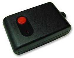 Cebek 1-Channel RF Remote Control Transmitter (Black Key Fob)